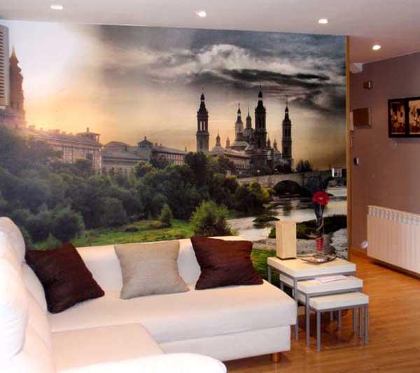 Papel pintado para decorar tus paredes - Papel pintado paisajes ...