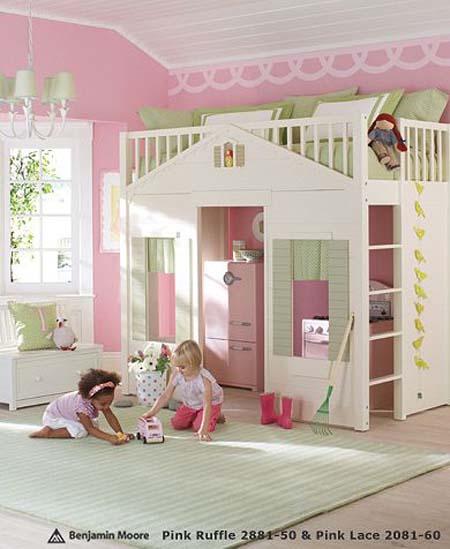 niñas Alt, habitación para niñas