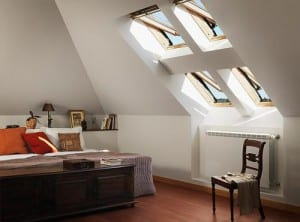 Persianas y ventanas coon energía solar Velux