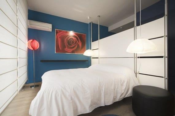 El azul inunda los dormitorios - Decoracion pintura dormitorios ...
