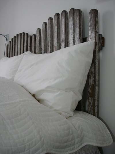 Cabeceros para la cama muy originales - Cabecera de cama reciclada ...