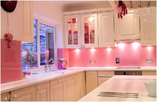 ¿Decoración rosa en tu casa?