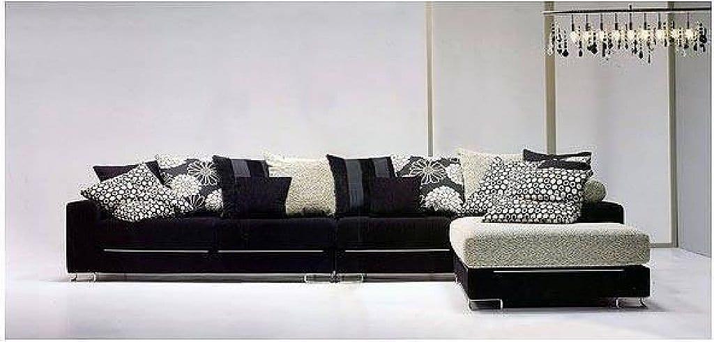 Como Decorar Con Un Sofa Negro - Salones-con-sofa-negro