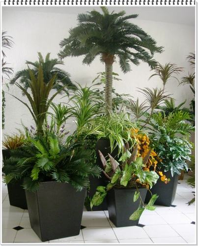 plantas artificiales para decorar tu hogar