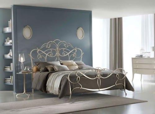 Ciacci, el encanto de las camas de hierro forjado