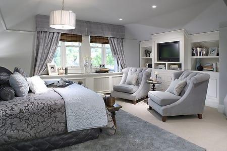 El gris en la decoracin de la casa
