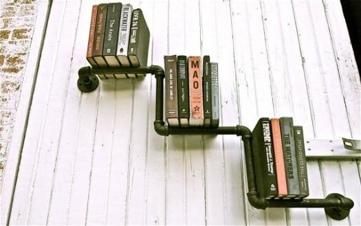 Librer as estilo industrial for Libreria estilo industrial