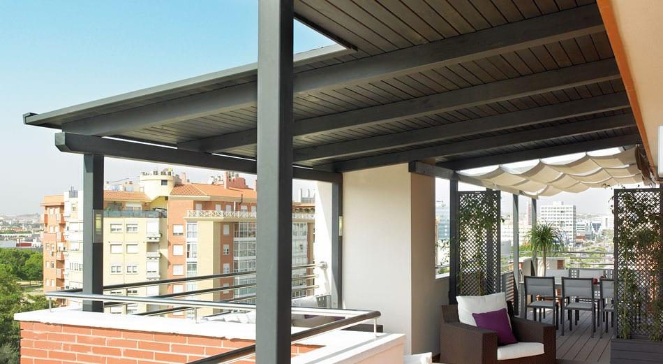 Pergolas de aluminio para terrazas kedry techos de para casa buscar con google affordable - Cubiertas de aluminio para terrazas ...