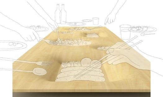 vajilla platos diseño japones zen