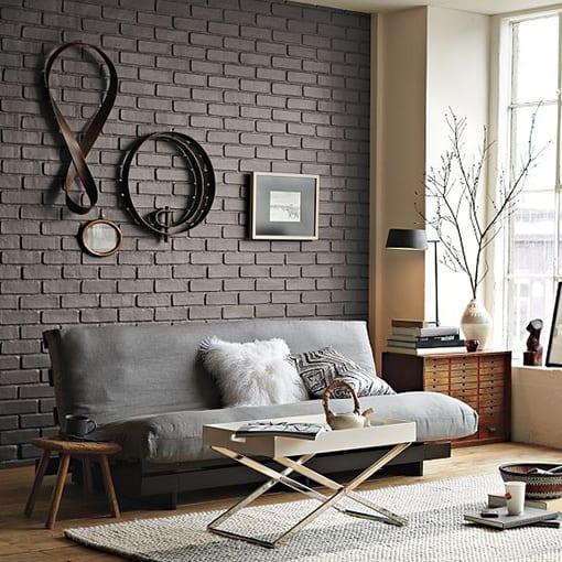 decorar pared ladrillo visto