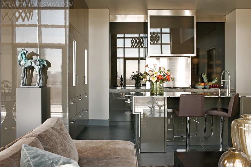 Integrar la cocina en el sal n Cocinas pequenas integradas en el salon