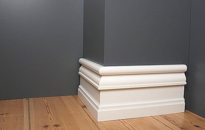 El rodapi fundamental en la decoraci n for Zocalos para paredes exteriores