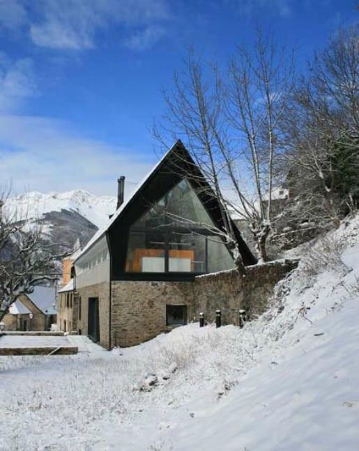 casa de diseño pirineos