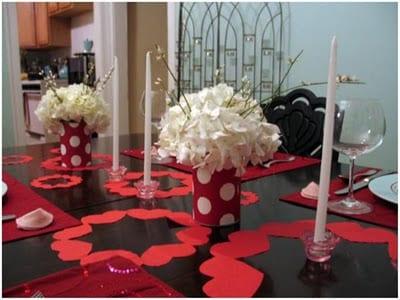 Ideas para decorar el d a de san valent n for Decoracion mesa san valentin