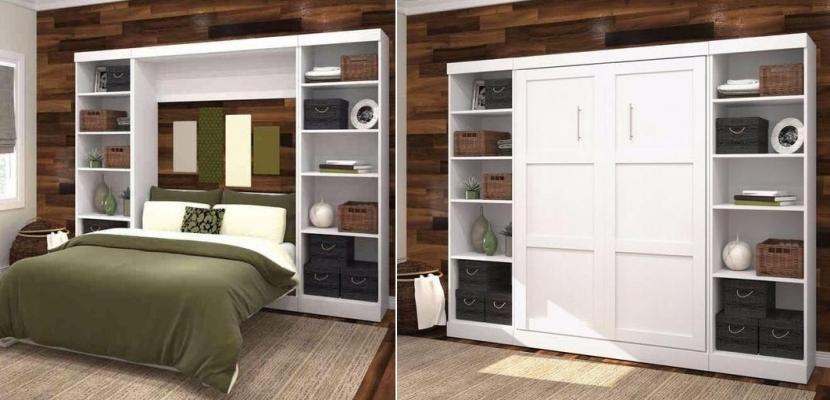 Ideas de camas que se esconden en el techo pared o dentro for Cama escondida en mueble