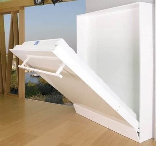 Ideas de camas que se esconden en el techo, pared o dentro de armarios