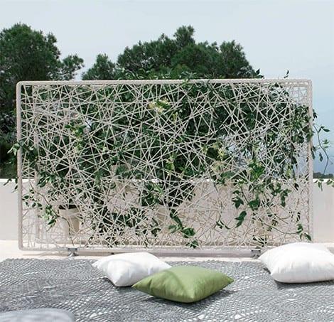 Separa ambientes en jardines y terrazas for Biombo exterior para jardin