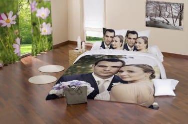 Personalizar la ropa del hogar con nuestras im genes - Cojines cama matrimonio ...