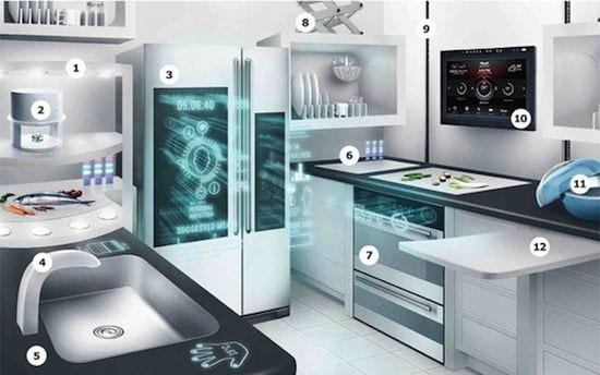 Cocinas ecológicas y tecnología: la cocina Ikea eficiente e inteligente