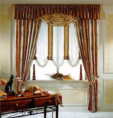 Decora tu ventana con cortinas