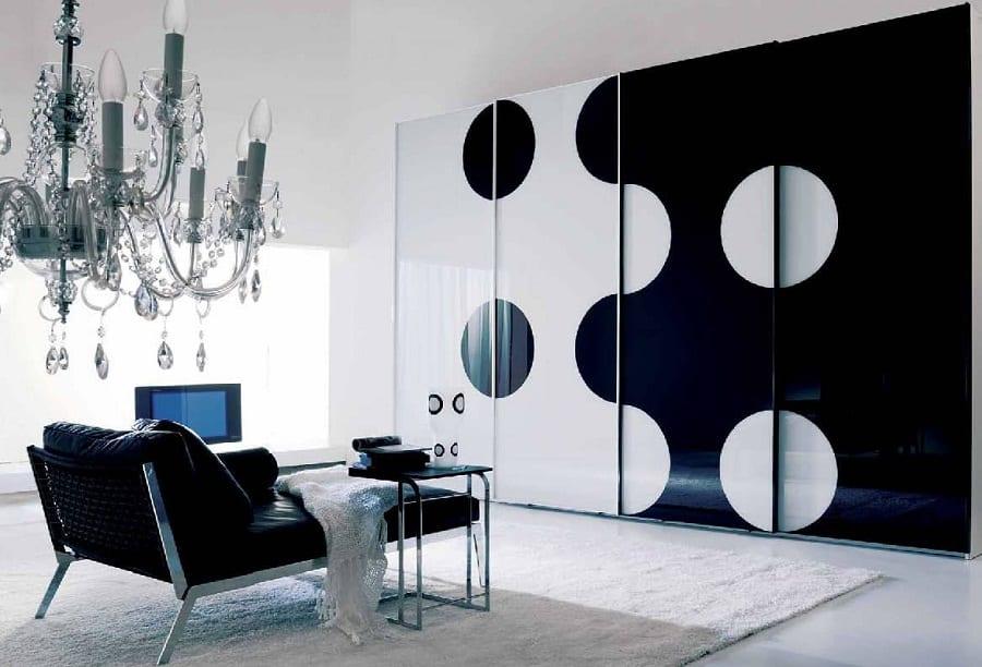 El color ngreo en la decoración del hogar