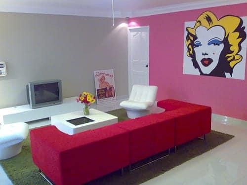 Decorar el hogar con estilo pop-art