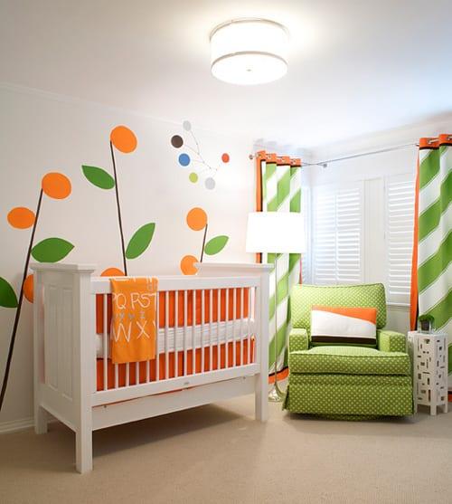 Decoración de la habitación de bebés