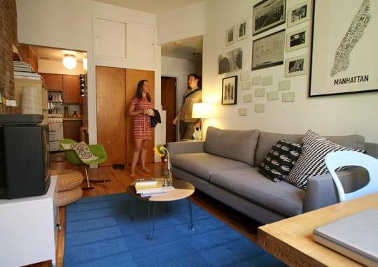 Diseño americano: un mini apartamento Neoyorkino