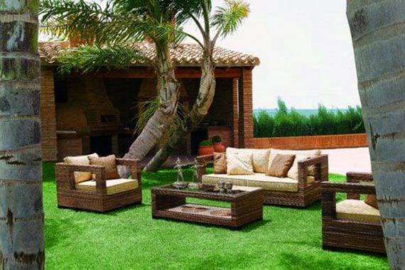 Mueble al aire libre for Decoracion muebles jardin