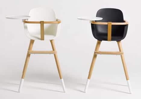Modernos objetos de diseño para bebés