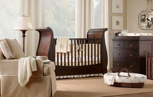 Cunas y muebles para bebés con mucha elegancia