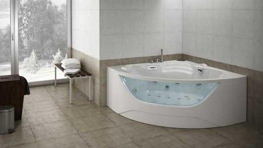 Transparencia en la bañera