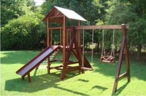 Construir un jardín para niños en el hogar