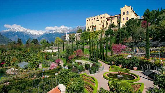 Los hermosos jardines de la emperatriz Sissi