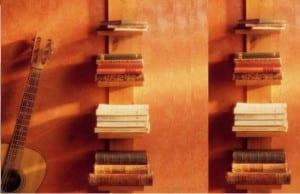 Mobiliario: la construcción de estantes de madera