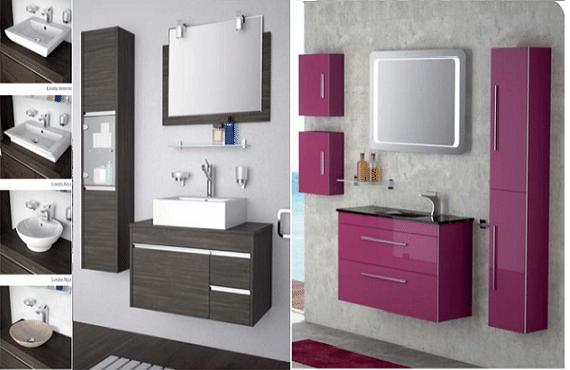 Mobiliario para el cuarto de baño