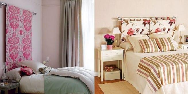 Muebles low cost parte iii crear tu propio cabecero - Cabeceros de cama de tela ...