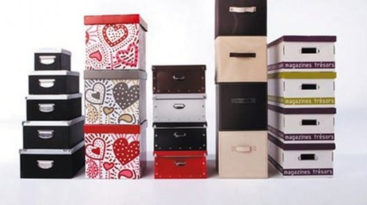 Cajas para decorar y ordenar tu armario - Cajas para ordenar ...