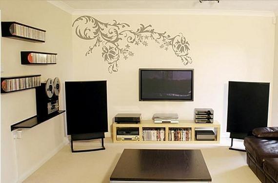 Decorar las paredes con stickers decorativos - Stickers decorativos ...