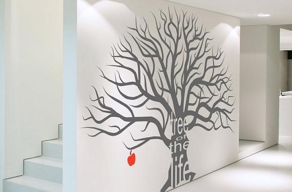 Decorar las paredes con stickers decorativos for Stickers para decorar paredes