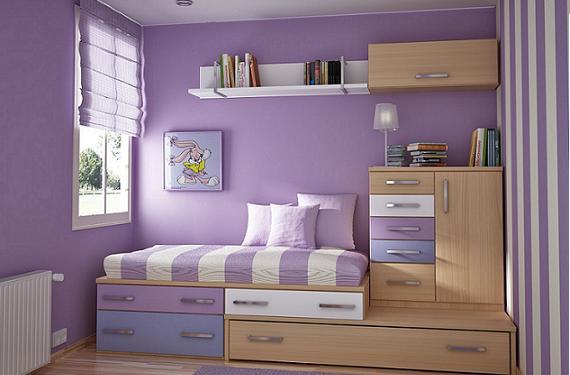 Decoracin personalizada de las habitaciones para nios