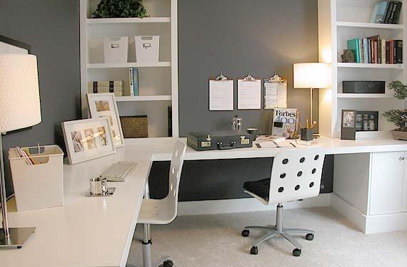 Cómo iluminar la oficina o estudio en casa