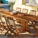 Muebles de jardín ecológicos