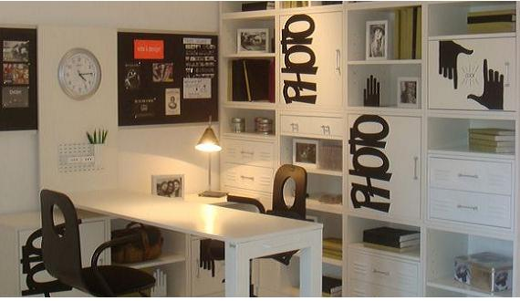 Diseñar la oficina en el hogar