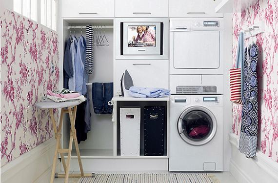 Cómo decorar el lavadero