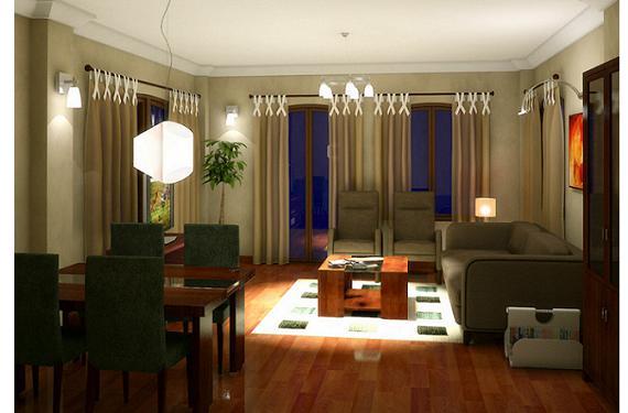La iluminación artificial en el hogar