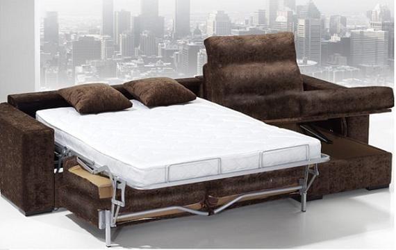 Mobiliario: sofá cama