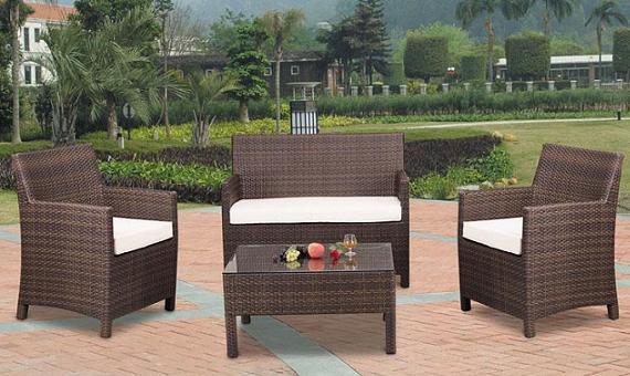 Muebles de exterior balcones terrazas y jardines - Muebles de resina para exterior ...