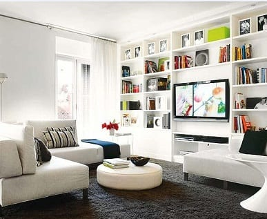 D nde colocar la televisi n en el sal n - Muebles para el salon ...