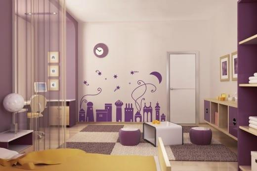 vinilos infantiles habitacion niños pared